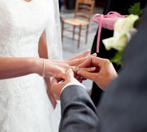 trouwen in kerk