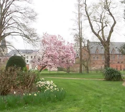 Tuin aartsbisschoppelijk paleis Mechelen-Brussel © rr