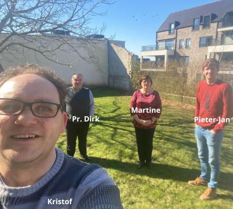 Het nieuwe team © Kerk in Zwevegem / Team