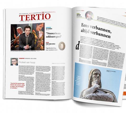 Cover Tertio nr. 1.105 van 14 april 2021. © Tertio