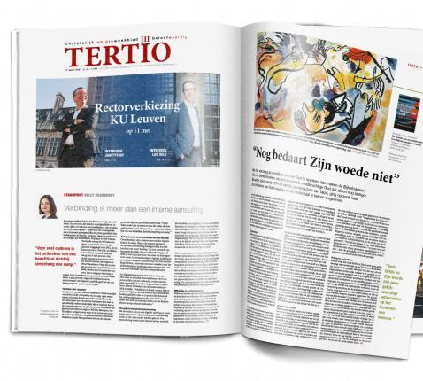 Cover Tertio nr. 1.106 van 21 april 2021. © Tertio
