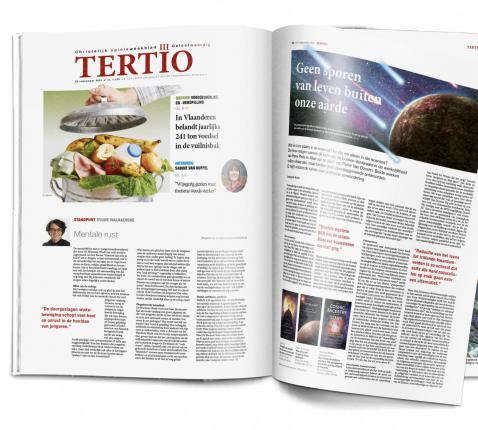 Tertio nr. 1.129 van 29 september 2021. © Tertio