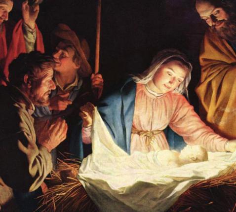 Geboorte van Christus (Wim-Gerard van Honthorst)