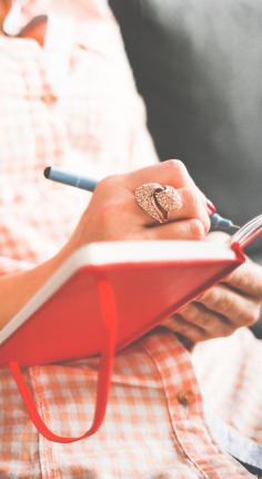 Noteer in je agenda voor de advent: tijd voor God. © CC Pexels