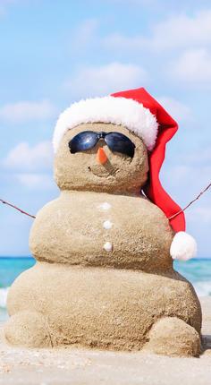 De kerstperiode beleven in het Zuiden, een heel ander gevoel. © Adobe
