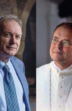 Leo Fijen en Jos Wouters schreven het brievenboek 'God neemt de tijd'. © Adveniat