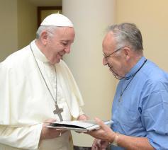 Ontmoeting Guido Eeckhaoudt 17 september 2018 © Vaticaan - Servizio Fotografico - Ordini