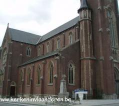 Sint-Gorikskerk Haaltert © www.kerkinvlaanderen.be