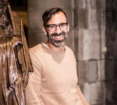 'Ik ben elke dag op zoek naar de beste versie van mezelf', zegt Jan Schepens,  die in De Passie de rol van Judas vertolkt © Nick Suy Ferreira