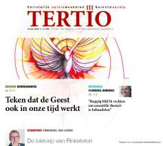 Zo ziet de cover van Tertio nieuwe stijl eruit © Tertio
