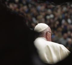 Paus Franciscus tijdens de algemene audiëntie van woensdag 6 februari 2019 © VaticanNews