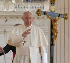 Paus Franciscus tijdens de algemene audiëntie van woensdag 5 juni 2019 © VaticanNews