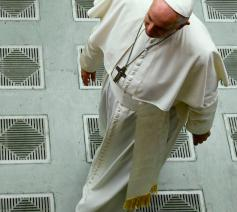 Paus Franciscus tijdens de algemene audiëntie van woensdag 21 augustus 2019 © VaticanMedia