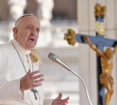 Paus Franciscus tijdens de algemene audiëntie van woensdag 11 september 2019 © VaticanMedia