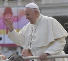 Paus Franciscus tijdens de algemene audiëntie van woensdag 6 november 2019 © VaticanMedia