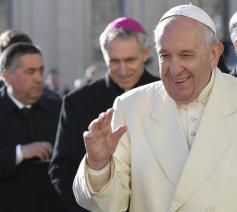 Paus Franciscus tijdens de algemene audiëntie van woensdag 4 december 2019 © VaticanMedia