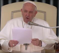 In zijn catechese over het Onzevader tijdens de algemene audiëntie van woensdag 24 april 2019 sprak paus Franciscus over vergiffenis krijgen en geven