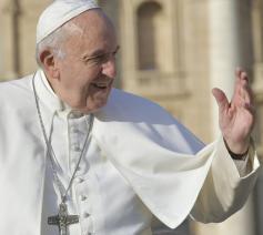 Paus Franciscus tijdens de algemene audiëntie van woensdag 21 november 2019 © VaticanMedia