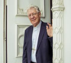 Bisschop Luc Van looy © Bisdom Gent, foto: Daina De Saedeleer