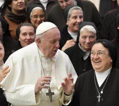 Paus Franciscus tijdens de algemene audiëntie van woensdag 15 januari 2020 © VaticanNews