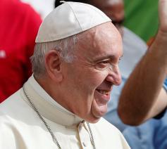 Paus Franciscus tijdens de algemene audiëntie van woensdag 2 september, de eerste met publiek sinds 26 februari2020 © VaticanMedia