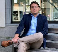 Jan Pauwels, wetenschappelijk medewerker aan de Koninklijke Bibliotheek en auteur © BL