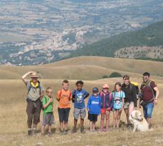 Kinderen op Monte Subbasio