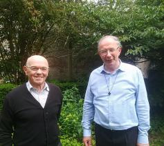 Dankviering Koen Vanhoutte en Antoon Vansteeland
