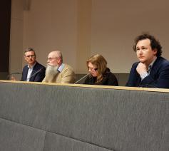 Pieter Vandecasteele (rechts op de foto) pleit voor bondgenotenstrategie © Paul Renders, Attent