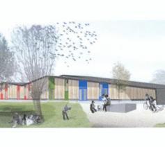 Nieuw gebouw voor de jeujd van Welle