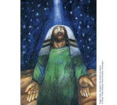 Sieger Köder, Abraham. Die Nacht von Hebron © Sieger Köder, Abraham. Die Nacht von Hebron © Sieger Köder-Stiftung Kunst und Bibel, Ellwangen
