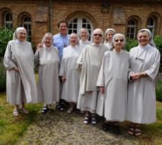 De zusters van Bethanië tijdens de Gezinsvakantie van 2019 © Severine Verhulst