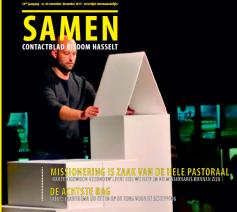 Cover Samen november-december 2019 © bisdom Hasselt
