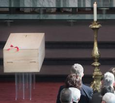 Begrafenis kardinaal Danneels   © Foto Belga DOP