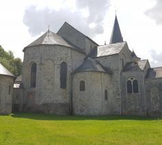 De Sint-Hadelinuskerk in Celles. © Kolet Janssen