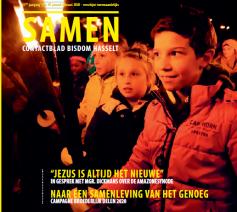 Cover Samen januari-februari 2020 © bisdom Hasselt