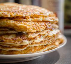 Pannenkoeken zoals ze bij Lichtmis vaak worden gegeten © Skitterphoto