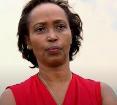 Béatrice Mukamulindwa, de oprichtster van Cri du Cœur d'une Mère qui Espère (CCME) © AbacuTV