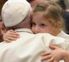 Paus Franciscus tijdens de algemene audiëntie van woensdag 22 september 2021 © VaticanMedia