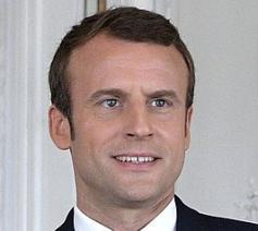 De Franse president Macron. © Wikimedia Commons