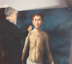Ciry foto schilderend aan Rédempeteur © BBK