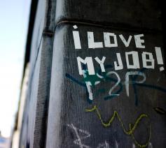 Een ode aan mensen die hun werk met hart en ziel doen.  © NIk Gaffney