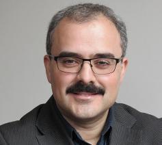 Enis Odaci is voorzitter van Stichting Humanislam, een denktank voor islamitisch humanisme in Nederland.  © RR