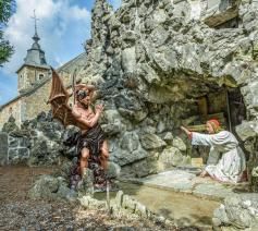 Grot van Sint-Antonius van Padua. © Boek 'De gekste plek van België'