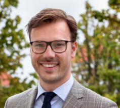 André Poortman, theoloog en projectmedewerker van het CDA © CDA