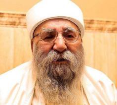 Baba Cheikh Khartu Hajji Ismail, de opperste religieuze leider van de jezidi-gemeenschap © RR