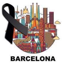 Pray for Barcelona © Twitter