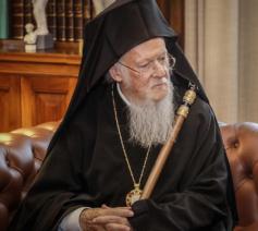 Oecemenisch patriarch Bartholomeos I van Constantinopel © SIR