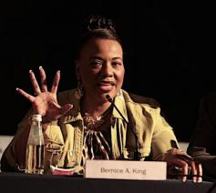 Bernice A. King: 'When they go low, you go high!' © Sant'Egidio