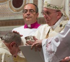 Paus Franciscus wijdt Angelo De Donatis tot bisschop © Zenit - L'Osservatore Romano